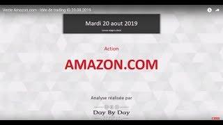 AMAZON.COM INC. Idée de trading : vente d'AMAZON.COM