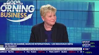 PEUGEOT Linda Jackson (Peugeot) : Les nouveaux défis de Peugeot