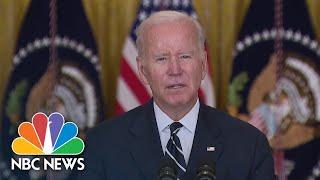 Biden Lays Out Framework For Spending Plan, But Still Needs Democratic Support