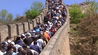 Besucheransturm auf der Großen Mauer: Inlandstourismus boomt