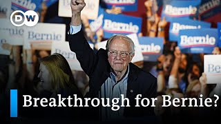 Landslide victory for Sanders in Nevada: Is the Democratic primary race already over? | DW News
