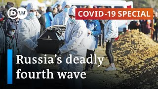 Russia sees record numbers of coronavirus deaths | Covid-19 Special