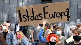 Allemagne : des milliers de manifestants demandent à l'UE d'accueillir les réfugiés de Lesbos