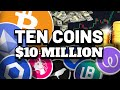 "ALTCOIN ""Altseason"" Arrives! 10 Coins to $10 Million Are!?"