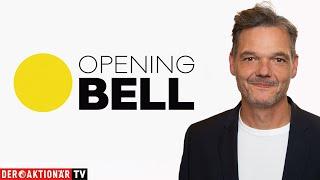 BITCOIN Opening Bell: Gold, Barrick, Bitcoin, Tesla, Virgin, Palantir, Amazon, Facebook, Microsoft, Alibaba