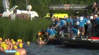 Gelukt: Maarten der Weijden finisht de Elfstedentocht - RTL NIEUWS