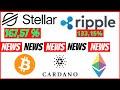 Kursexplosionen bei Stellar 🚀Lumens XLM | Ripple XRP | Cardano ADA | Ethereum | Bitcoin BTC | News