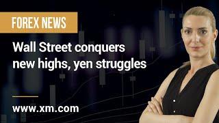 DOW JONES INDUSTRIAL AVERAGE Forex News: 15/06/2021 - Wall Street conquers new highs, yen struggles