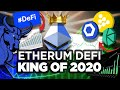 Ethereum to Sneak Up ON BTICOIN! 2020 Year of #DeFi