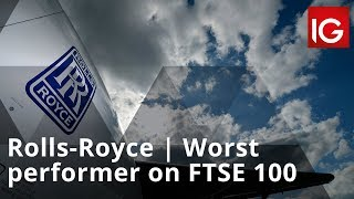 FTSE 100 Rolls-Royce starts out as the worst performer on FTSE 100