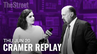 ORACLE CORP. Jim Cramer Tackles the Fed, Oracle and Slack Going Public