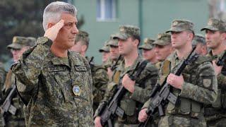 """Kosovo diz que criação de exército é """"irreversível"""""""