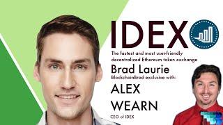 IDEX MEMBERSHIP IDEX |  Decentralized Smart Contract Exchange | Alex Wearn | Crypto Interview | BlockchainBrad | DEX