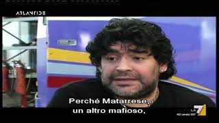 """Maradona by Kusturica, la rivalità storica: """"C'era la netta sensazione che il sud non potesse ..."""