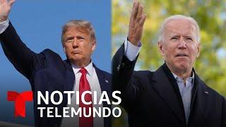 Exclusiva: con mensajes muy contrastantes Trump y Biden piden el voto latino | Noticias Telemundo