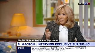 TF1 B. Macron : Interview exclusive sur TF1-LCI