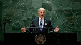 """Les États-Unis """"ne cherchent pas une nouvelle Guerre froide"""", dit Joe Biden à l'ONU • FRANCE 24"""