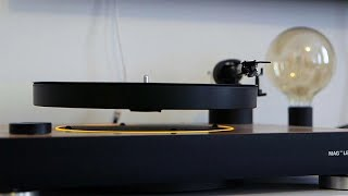 Watch: Floating turntable keeps vinyl up to date