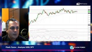 USD/JPY Flash Forex : Analyse USD/JPY