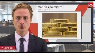 GOLD - USD Bourse - GOLD, dollar sous surveillance/vers un nouveau plus haut annuel - IG 13.06.2019