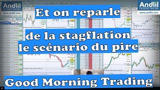 NASDAQ100 INDEX La Stagflation ou le scénario du pire pour le Nasdaq et les actions. Good Morning Trading Benoist