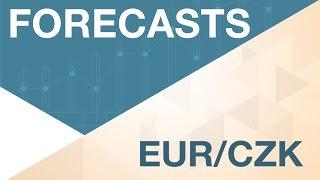 EUR/CZK Prévisions sur l'EUR/CZK