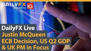 AMP LIMITED ECB Decision, US Q2 GDP & UK PM in Focus
