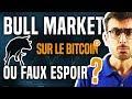 Bitcoin - BULL MARKET SUR LE BITCOIN OU FAUX ESPOIR ?