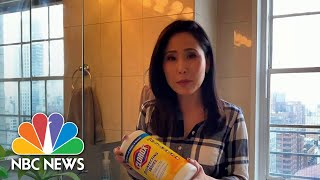 How To Clean Your Home To Prevent Coronavirus Spread | NBC Nightly News
