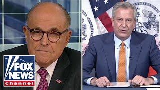 Giuliani torches Mayor de Blasio: He should hang his head in shame