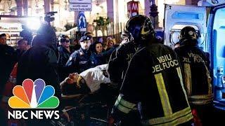Rome Escalator Runs Out Of Control, Causes Pileup And Injuries | NBC News