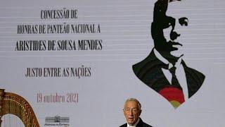 SCHINDLER N Aristides de Sousa Mende, lo Schindler portoghese