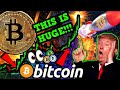 BITCOIN EXPLODING NOW!!!! INCREDIBLE DECOUPLING!!! $14k NEXT?!! HUGE NEWS for USA!!