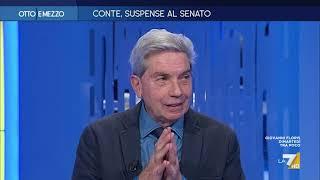 """Crisi, Antonio Padellaro: """"I volenterosi? Alcuni accenni di Conte mi hanno fatto sorridere. Ora ..."""