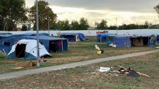 Les Syriens toujours dans l'attente de leur expulsion, près de Lyon