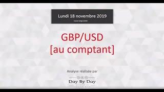 GBP/USD Achat GBP/USD (au comptant) : Idée de trading 18.11.2019