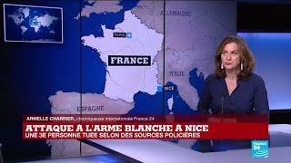 Attaque à l'arme blanche à Nice : une troisième personne tuée selon des sources policières