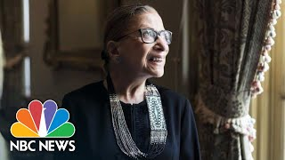 Live: Justice Ruth Bader Ginsburg Lies In Repose At Supreme Court   NBC News