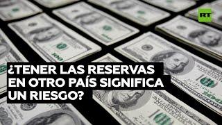 GOLD - USD ¿Concentrar las reservas de oro en otro país significa un riesgo?