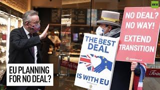 EU to begin planning for no deal