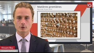 COPPER Bourse - COPPER, vers une poursuite du rebond CT ? - IG 19.06.2019
