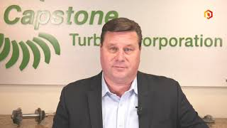 CAPSTONE TURBINE Capstone Turbine CEO talks through 1Q earnings and reacts to London's power outage HD