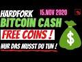 GRATIS | FREE BITCOIN CASH | Noch 5 Tage | BCH Hardfork steht kurz bevor! Was du wissen & tun musst!