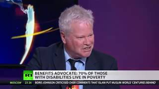 Report: disabled claimants hardest hit by government benefit changes.