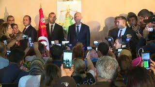 présidentielle en Tunisie : Kais Saeid élu à 72,71% des voix