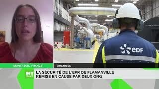 EDF Charlotte Mijeon explique la plainte de Greenpeace et Sortir du Nucléaire contre EDF