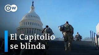 Más de 20.000 soldados deberán proteger Washington durante la toma de posesión de Joe Biden