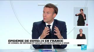 Covid-19 en France : avant le verdict de Macron, un reconfinement est l'hypothèse la plus probable
