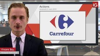 CARREFOUR Bourse - CARREFOUR, les résultats 2018 salués - IG 01.03.2019