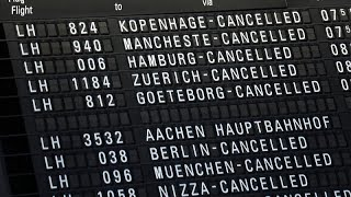 LUFTHANSA AG VNA O.N. Greve na Lufthansa cancela 1300 voos